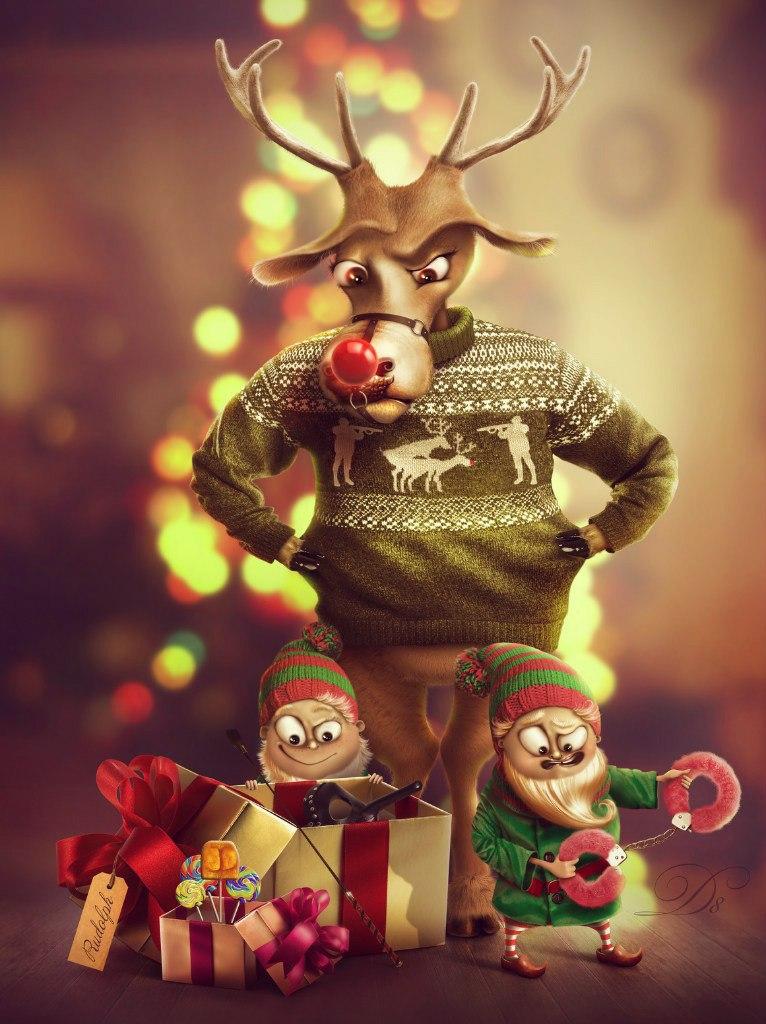 bad, bad Santa... by AllaD8