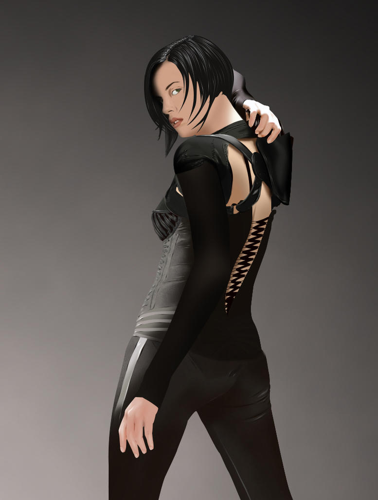 Aeon Flux Vexel by Redrooster023 on DeviantArt