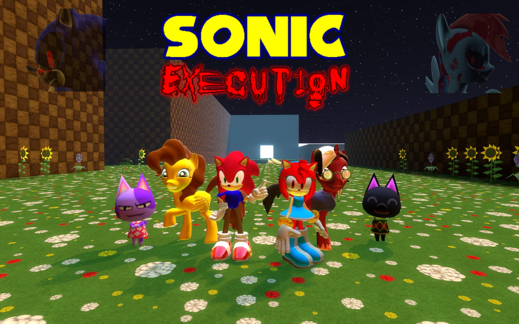 Sonic execution poster by the1996hedgehog on deviantart