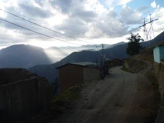 Yanac Ancash Peru street by YamilyAlbrecht