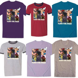 Sticky Graphic Novels fundraising t-shirt!