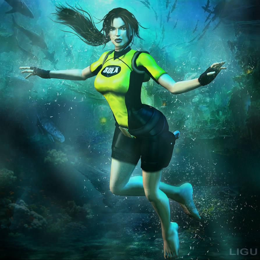 Underwater by GreatQueenLina on DeviantArt