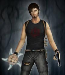 Tomb Raider: Kurtis Trent by Ligufaca