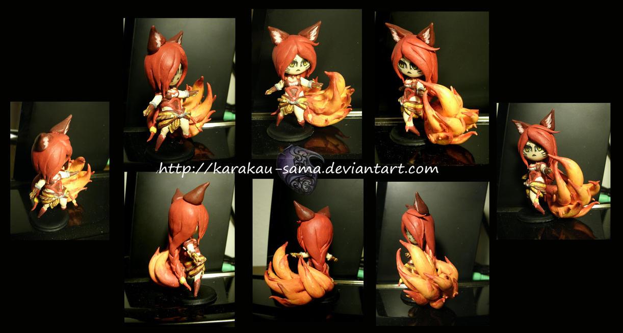 Firefox Ahri from L.O.L. by Karakau-sama
