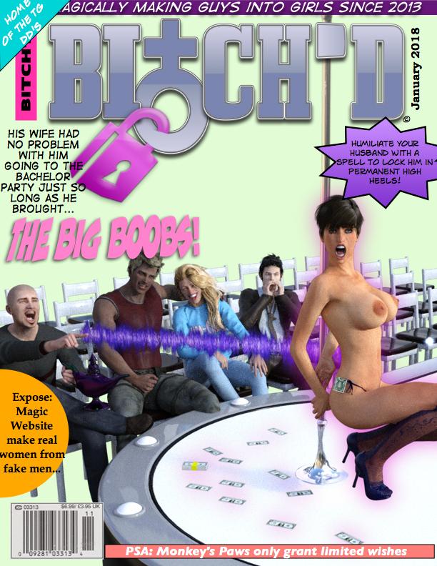 Bitch'd Mag jan 2018 by DD-Debutante