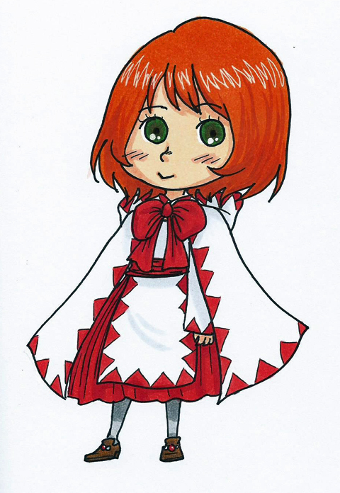 FF - White Mage Chibi by Kireikage