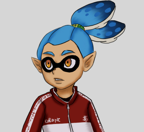 Splatoon - Inkling Boy by Kireikage