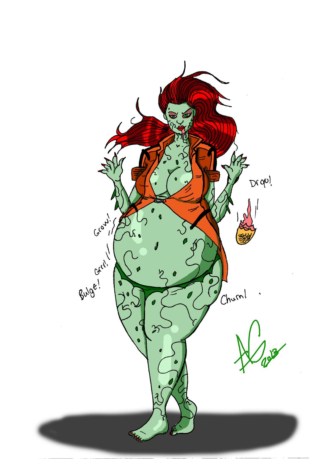 Point commisson: Poison Ivy by CrimsonLantern11 on DeviantArt