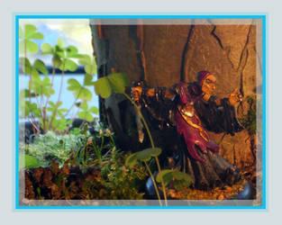 Iron Kingdoms - Umbral Sorc by kleinerewoelfin