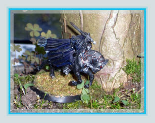 LotR - Dark Rider 02 by kleinerewoelfin
