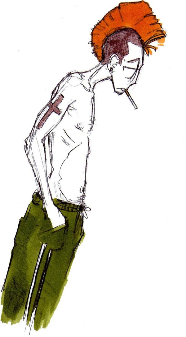 Celui qui cherche son briquet. by UltraLivid