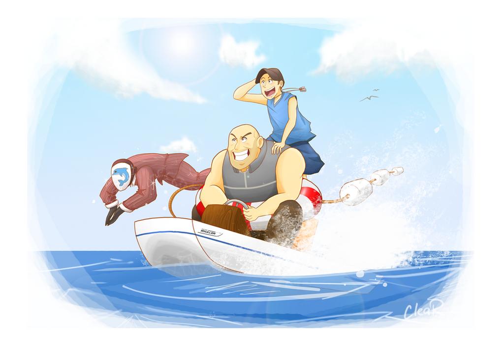 That Dolphin is a Spy! by KonjouNashi