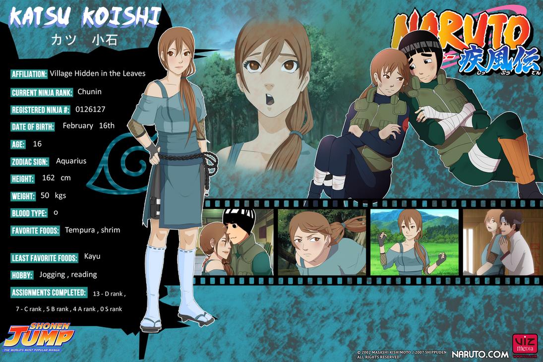 Katsu Profile By One Legged Zombie