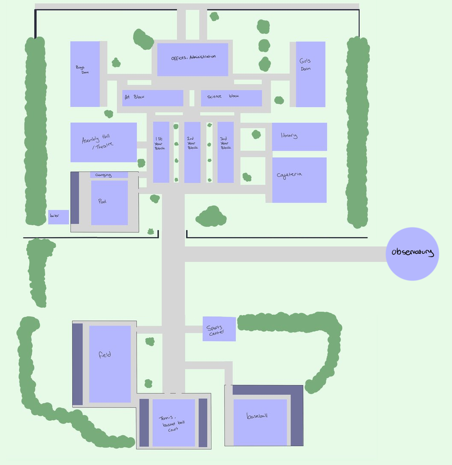 School layout by one legged zombie