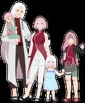 The Haruno / Funseki family.