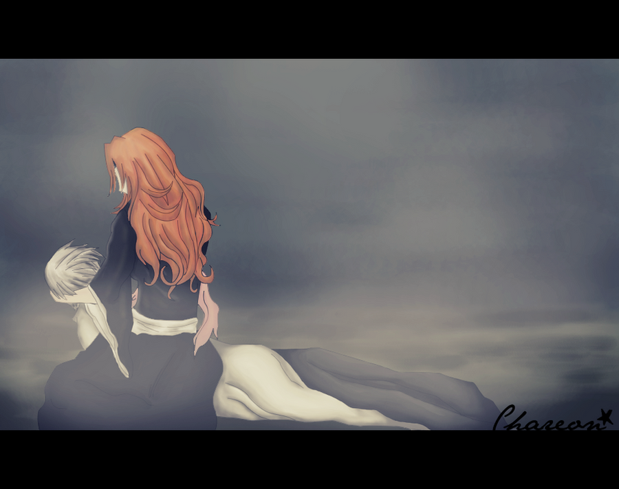 Gin x Rangiku: I'm Sorry... by Chareon