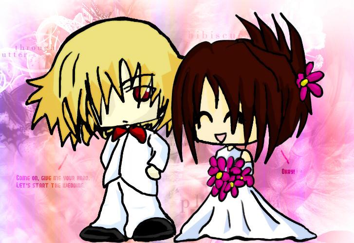The Wedding. -KyuGeli- by Chareon