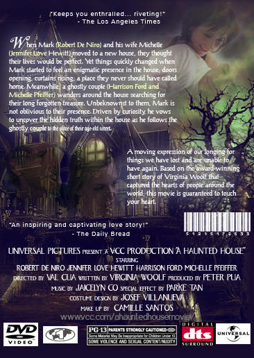 A Haunted House BACK COVER by Chareon