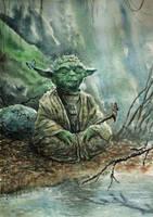 Master Yoda by Entar0178