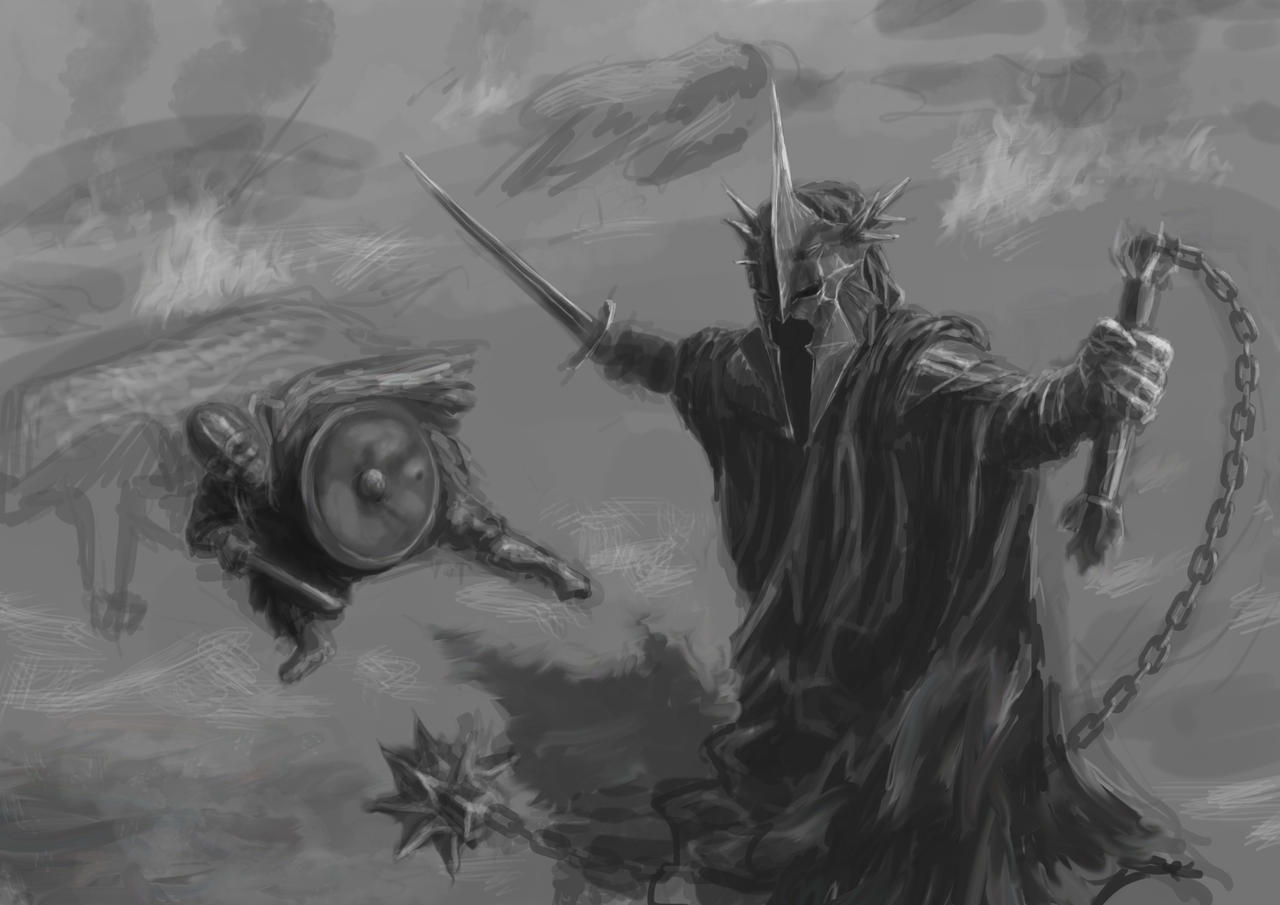 WIP The Witch King Of Angmar (working title) by Entar0178