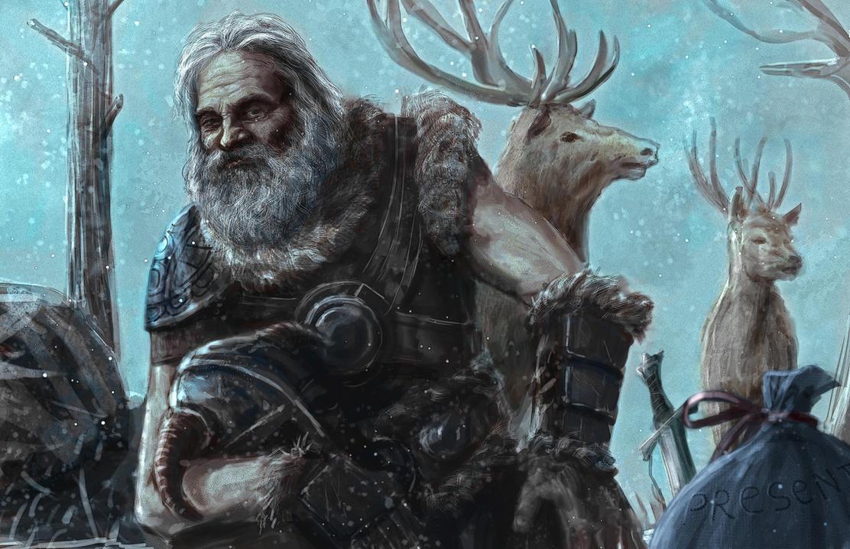 Santa Claus In Skyrim by Entar0178