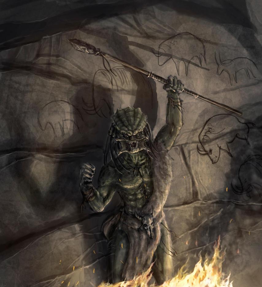 Stone Age Predator by Entar0178