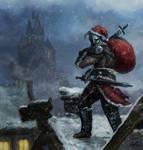 Santa Comes To Skyrim