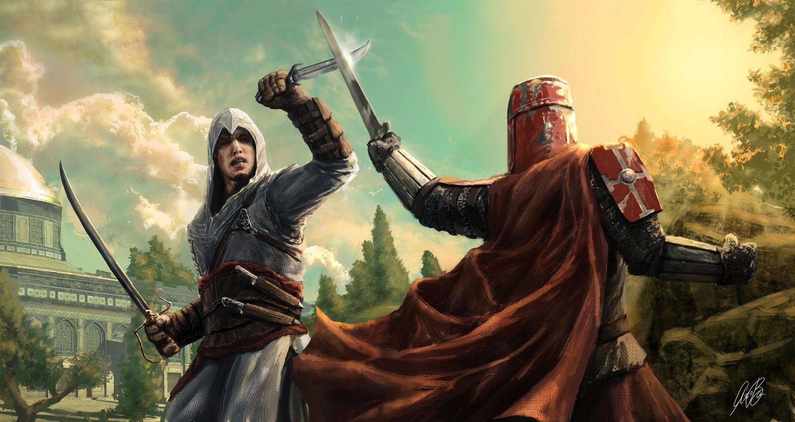 Pubg By Sodano On Deviantart: Altair's Fight By Entar0178 On DeviantArt