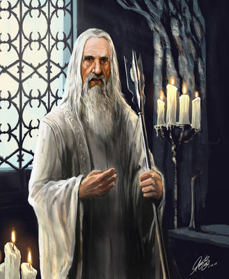 Saruman by Entar0178