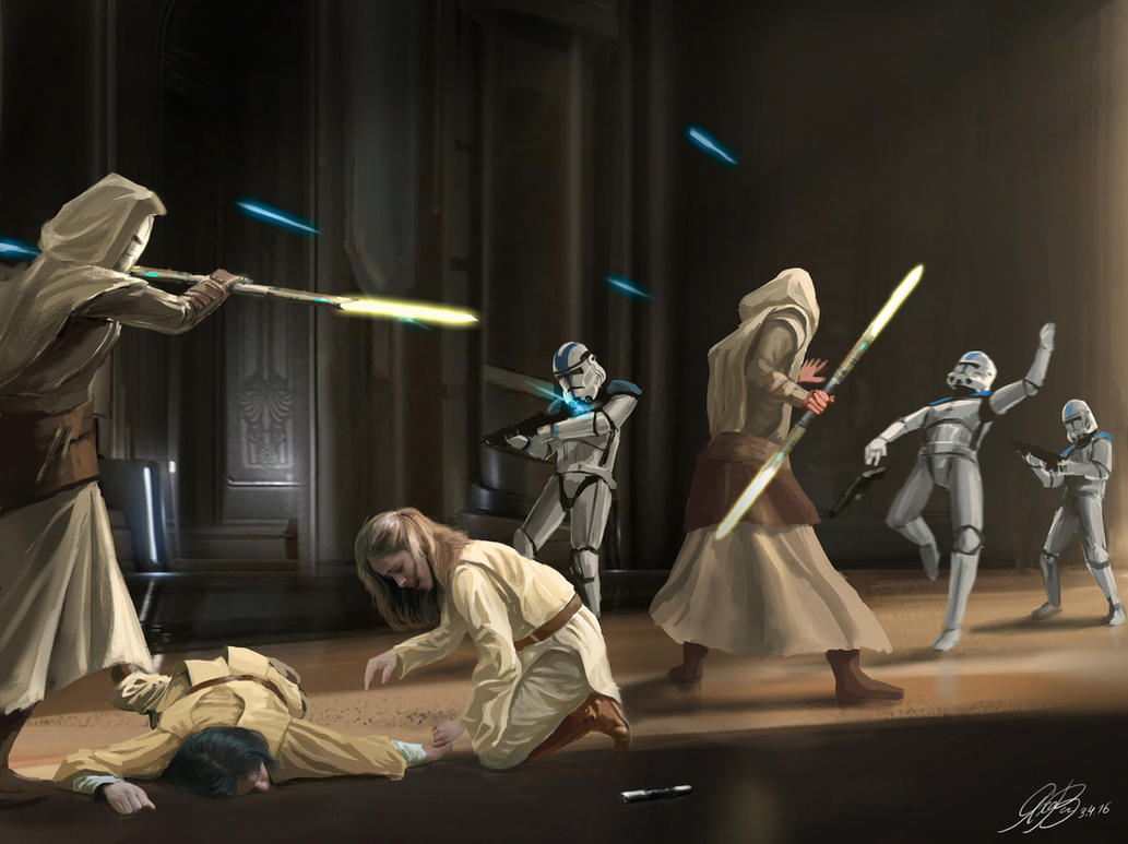 A Wonderful Life Movie >> Commission Jedi Temple Guards by Entar0178 on DeviantArt