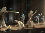 Commission Jedi Temple Guards by Entar0178