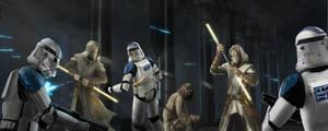 Commission Jedi Temple Guards V2