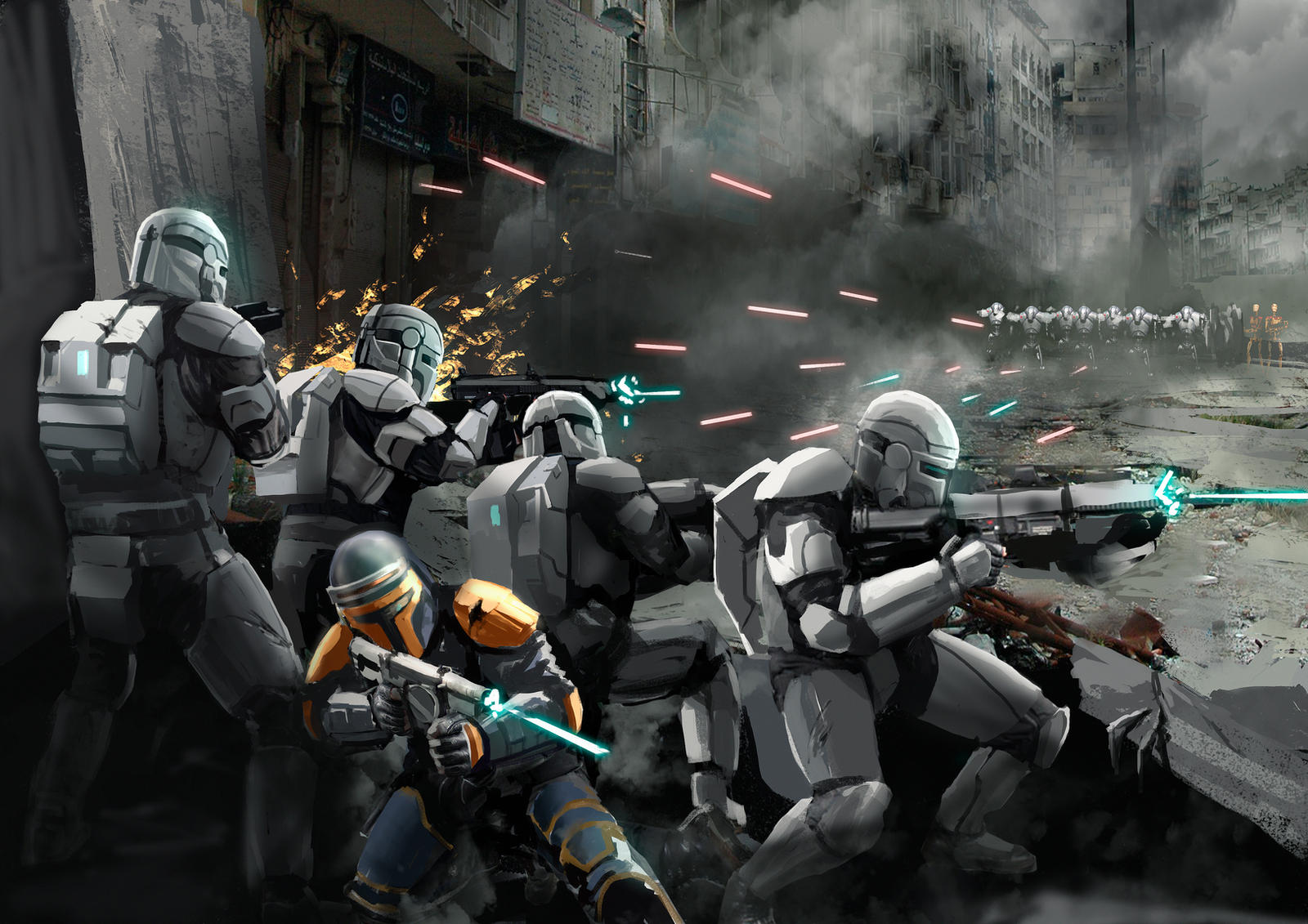 clone commando squad image - photo #15