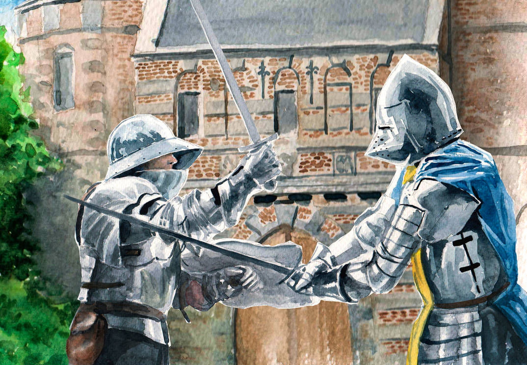 Medieval Knights Duel