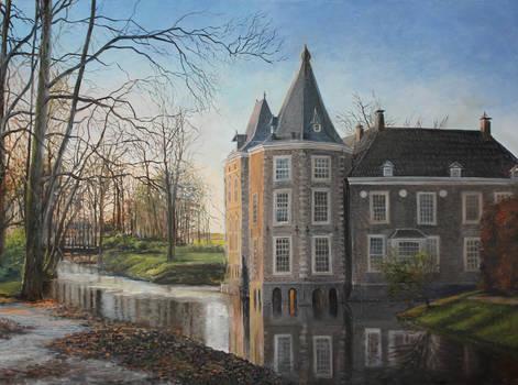 Castle Oil Painting