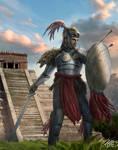 Aztec Warrior Commission