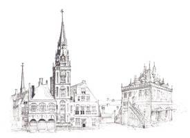 Medieval Dutch Buildings