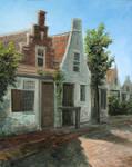 Medieval Dutch Street Study