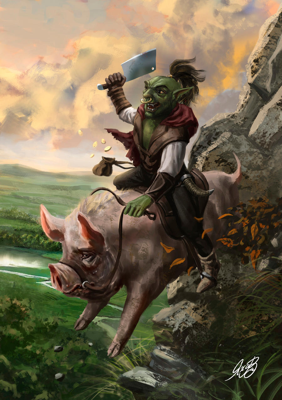 DnD Goblin Commission