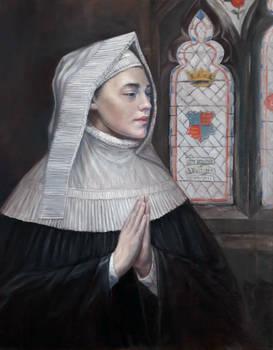 Margaret Beaufort Oil Painting Portrait