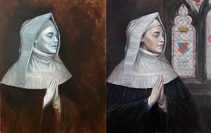 OIl Painting Portrait Steps