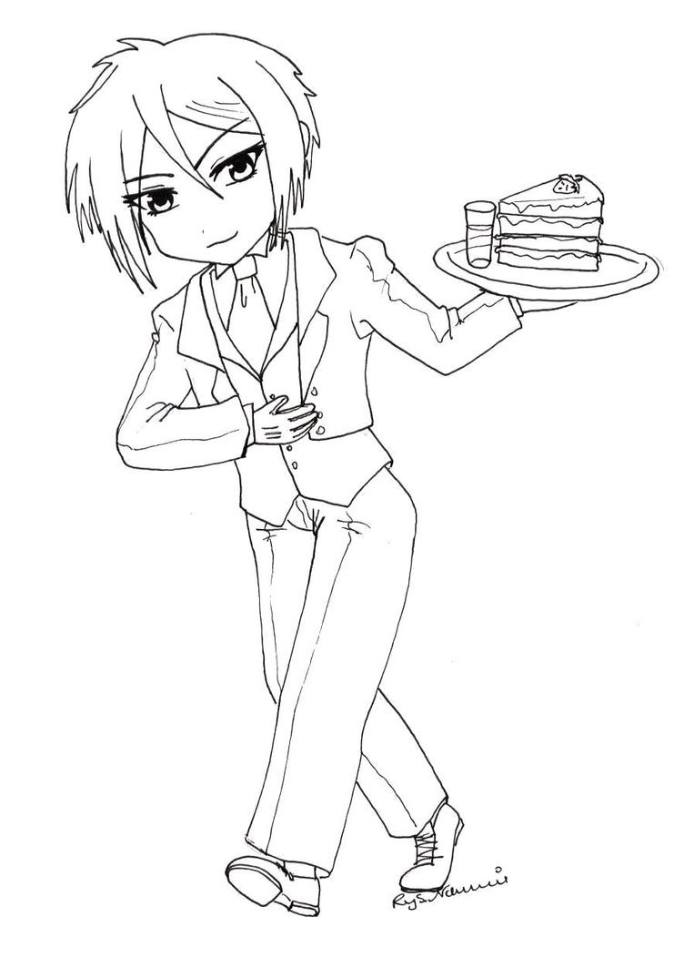 black butler coloring pages coloring pages together with black butler moreover dot sketch