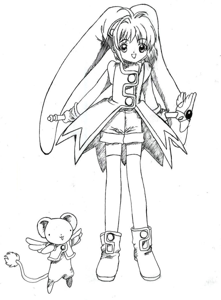 Card captor sakura 3 by hashimoto narumi on deviantart for Cardcaptor sakura coloring pages