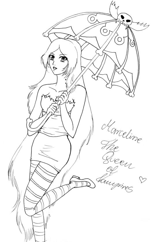 Adventure time marceline and marshall coloring pages ~ Adventure Time Marceline by hashimoto-narumi on DeviantArt