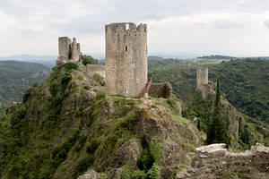 Chateau de Lastours - 8403 by Jaded-Paladin