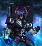 Armada Megatron ColoredVersion by Kirdein