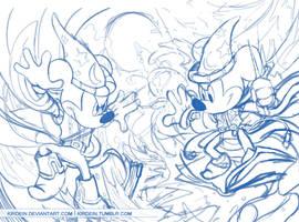 Sorcerer Mickey Battle
