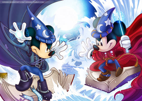 Mickey Cover finished