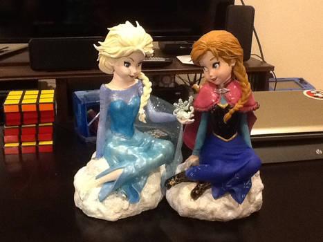 Frozen Modified Sculptures
