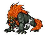 Dark Beast Ganon for Clopina